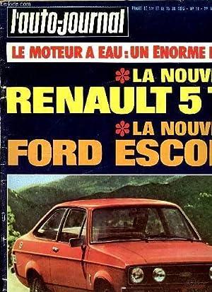 L'AUTO JOURNAL N° 19 - Fiat 128: COLLECTIF
