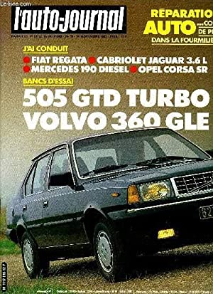 L'AUTO JOURNAL N° 19 - Volvo 360: COLLECTIF