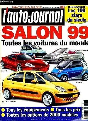 L'AUTO JOURNAL N° 495 - Salon 99: COLLECTIF