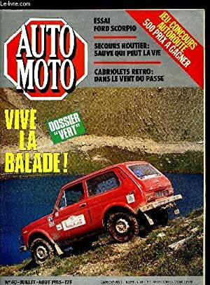 AUTO MOTO N° 40 - Dunlop : COLLECTIF
