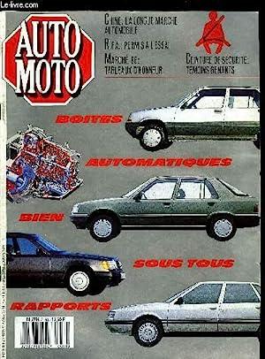 AUTO MOTO N° 58 - Boites automatiques: COLLECTIF