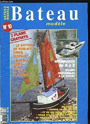 BATEAU MODELE N° 10 - C.E. de: COLLECTIF