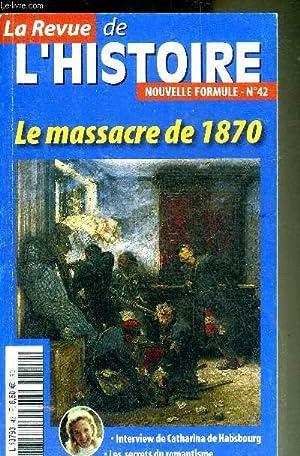 LA REVUE DE L'HISTOIRE NOUVELLE FORMULE N°42: COLLECTIF