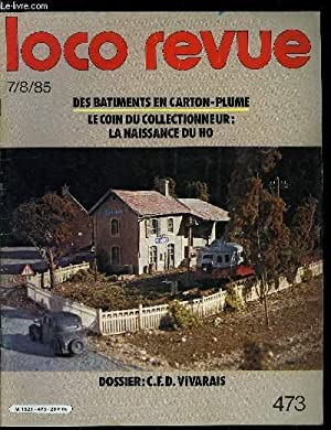 LOCO REVUE N° 473 - Dossier CFD: COLLECTIF