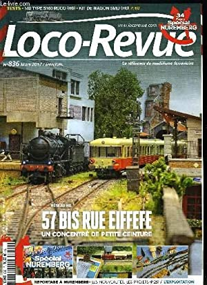 LOCO REVUE N° 836 - 140 type: COLLECTIF