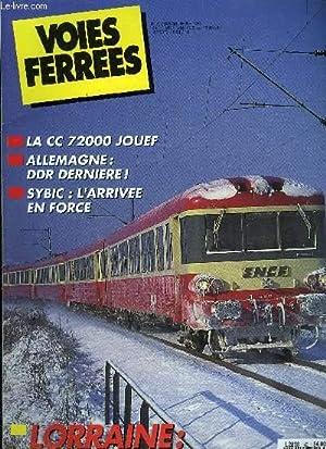 VOIES FERREES N° 63 - Un train: COLLECTIF