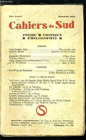 LES CAHIERS DU SUD N° 200 -: COLLECTIF