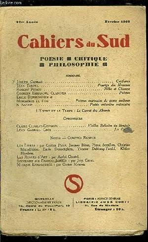 LES CAHIERS DU SUD N° 221 -: COLLECTIF