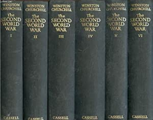 THE SECOND WORLD WAR, 6 VOLUMES (THE: CHURCHILL WINSTON S.