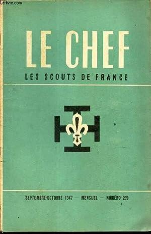 LE CHEF DES SCOUTS DE FRANCE -: COLLECTIF