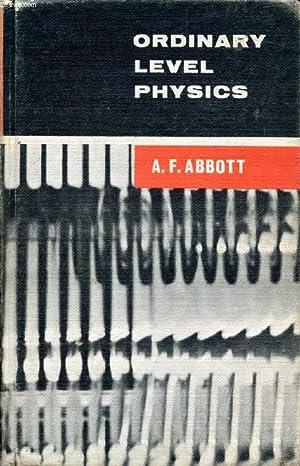 a f abbott - ordinary level physics - AbeBooks