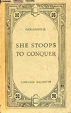 SHE STOOPS TO CONQUER: GOLDSMITH OLIVER, Par