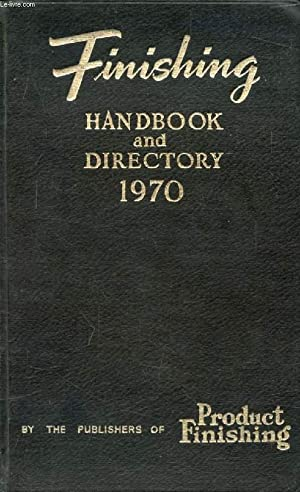 FINISHING HANDBOOK AND DIRECTORY, 1970: FRENCH V. H.,