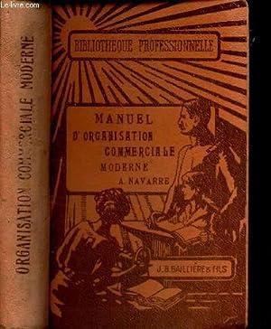 MANUEL D'ORGANISATION COMMERCIALE MODERNE: NAVARRE ALBERT