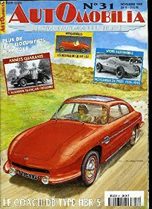 AUTOMOBILIA N° 31 - 100 ans de: COLLECTIF