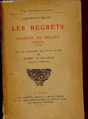 LES REGRETS DE JOACHIM DU BELLAY /: DU BELLAY JOACHIM