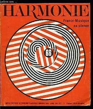 HARMONIE N° 66 - France Musique en: COLLECTIF