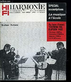 HARMONIE N° 119 - Marcel Landowski et: COLLECTIF