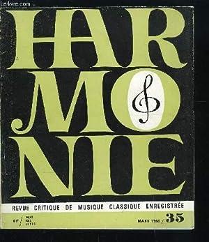 HARMONIE N° 35 - Le dessin de: COLLECTIF
