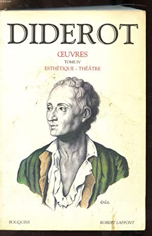OEUVRES - TOME IV - ESTHETIQUE -: DIDEROT DENIS