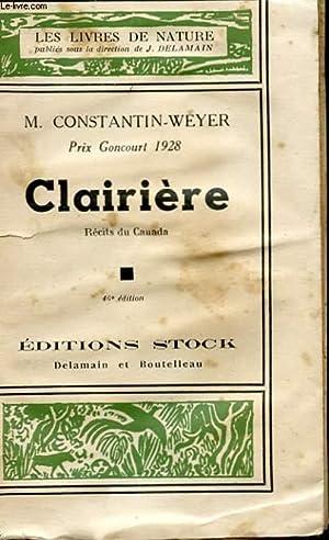 CLAIRIERE: WEYER CONSTANTIN