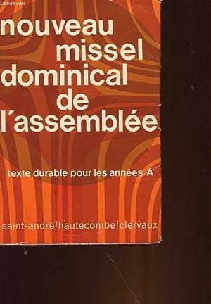 NOUVEAU MISSEL DOMINICAL DE L'ASSEMBLEE: COLLECTIF