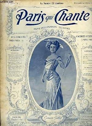 PARIS QUI CHANTE 1ère année N° 5: COLLECTIF