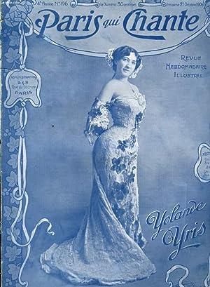 PARIS QUI CHANTE 4ème année N° 196 Madame Chrysanthème par BOREL - CLERC, ...