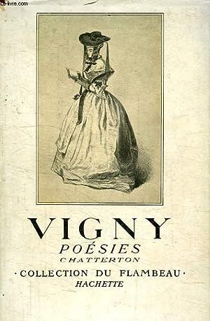 POESIES, CHATTERTON: VIGNY ALFRED DE