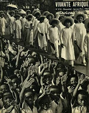 VIVANTE AFRIQUE, N° 218, JAN.-FEV. 1962: COLLECTIF