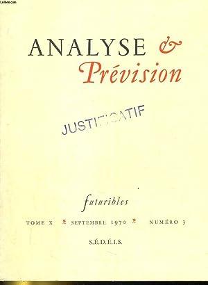 Futuribles. Analyse et prévision: Revue