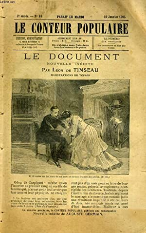 Le document: Le Conteur Populaire. N°16