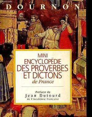 Mini encyclopédie des proverbes et dictons de: DOURNON