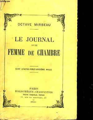 Le journal d'une femme de chambre: OCTAVE MIRBEAU