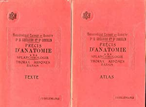 PRECIS D'ANATOMIE - 3 - ATLAS -: CARNOT P. -