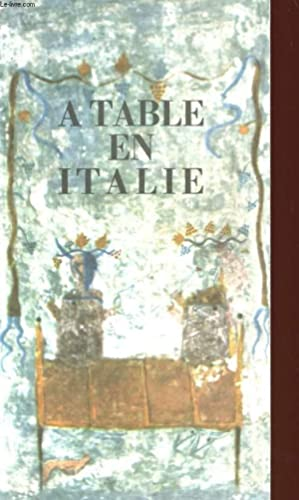 A TABLE EN ITALIE: COLLECTIF