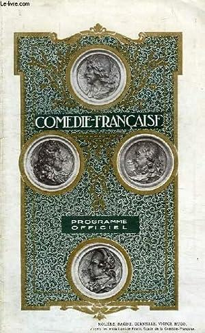 Pre-1940 Vintage Programme Theatre Comedie Francaise 1929 Le Marquis De Priola