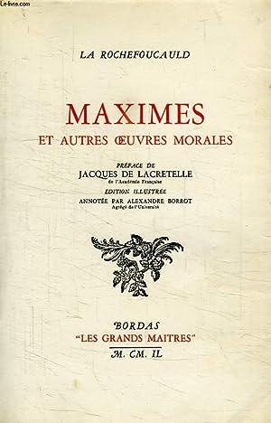 MAXIMES ET AUTRES OEUVRES MORALES: LA ROCHEFOUCAULD