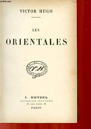 LES ORIENTALES: HUGO VICTOR