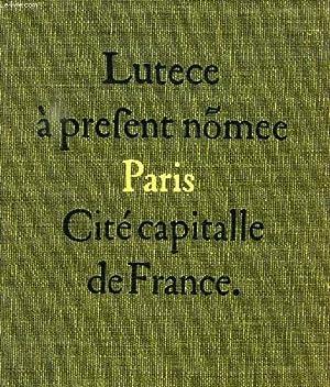 CONNAISSANCE DU VIEUX PARIS: HILLAIRET JACQUES