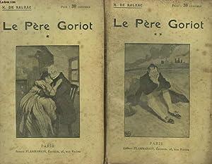 LE PERE GORIOT. COLLECTION : OEUVRES DE BALZAC.: BALZAC HONORE DE.