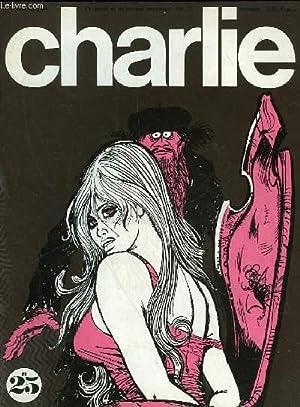CHARLIE MENSUEL N°25 - JOURNAL PLEIN D'HUMOUR ET DE BANDES DESSINEES: COLLECTIF