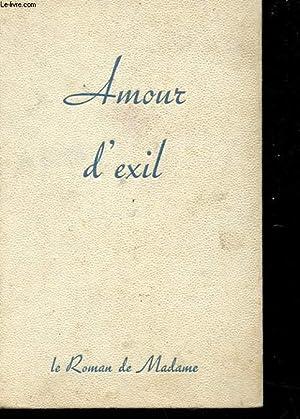 AMOUR D'EXIL: LANGEL CLAUDE