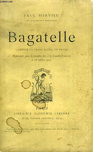 Bagatelle: HERVIEU Paul