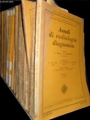 Annali di radiologia diagnostica: Collectif