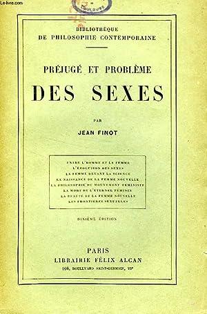 PREJUGE ET PROBLEME DES SEXES: FINOT JEAN
