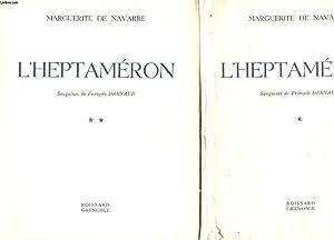 L'HEPTAMERON - 2 TOMES: NAVARRE MARGUERITE DE
