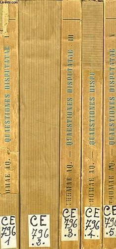 QUAESTIONES DISPUTATAE ET QUAESTIONES DUODECIM QUODLIBETALES, 5: S. THOMAE AQUINATIS