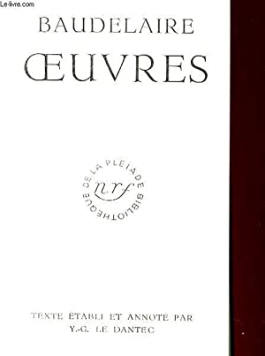 OEUVRES: BAUDELAIRE