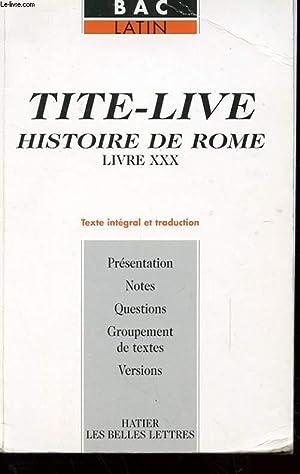 TITI-LIVE - HISTOIRE DE ROME - LIVRE: FLOBERT ANETTE